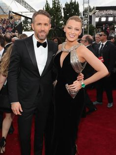 Blake Lively y Ryan Reynolds la pareja perfecta de los Globos de Oro 2017 by Trendencias  #Other