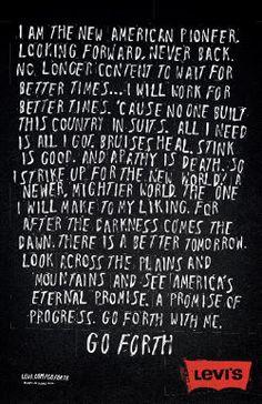 Well said Walt Whitman. Well said.