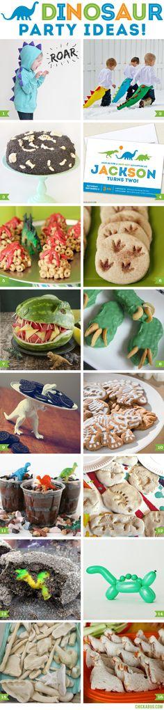 Dino-mite dinosaur party ideas
