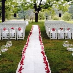 Some of our favorirte moments aisle markers wedding and weddings red wedding ceremony decorations church wedding ceremony ideas afloral wedding blog junglespirit Gallery