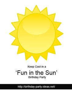 Keep Cool in a 'Fun