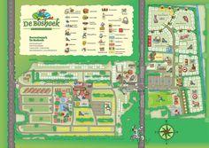Plattegrond | Recreatiepark De Boshoek