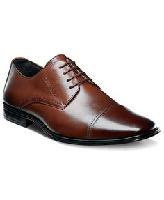 Shoes: brown dress shoes such as the below. Those with laces or oxfords are preferred. Stacy Adams Montgomery Cap-Toe Lace-Up Shoes