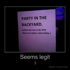 Lol...went to my fair share of flyer parties back in the day.