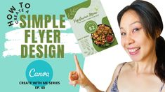 HOW TO CREATE A SIMPLE FLYER IN CANVA: TUTORIAL FOR BEGINNERS Design Tutorials, Learning, Canvas, Create, Simple, Tela, Studying, Canvases, Teaching