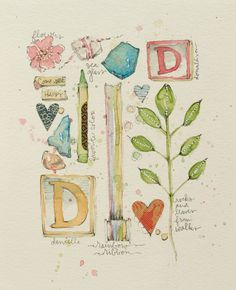 Watercolor Illustration by Danielle Donaldson