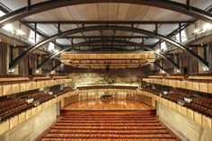 PTW Architects - Project - Sydney Grammar School Assembly Hall