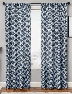 Bali Ikat Curtain Drapery Panels In 5 Color Combinations Best Window Treatments Ready Curtains108 Inch Curtaintra Long