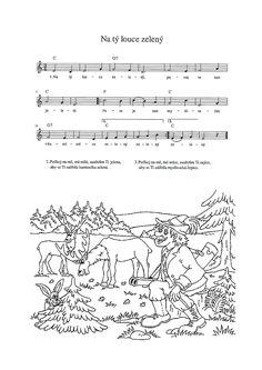 Na tý louce zelený Czech Republic, Ukulele, Keyboard, Piano, Sheet Music, Country, Musica, Rural Area, Pianos