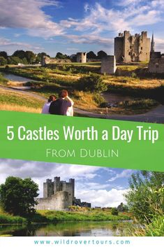 5 Castles Worth a Day Trip From Dublin If you are into towers and turrets and tales of history and heroes here are five castles close to Dublin that you can visit on a day trip. Dublin Ireland, Ireland Travel, Bucket List Destinations, Travel Destinations, Travel Europe, Travel With Kids, Family Travel, Beautiful Castles, Beautiful Places