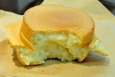 cream custard bean taiwanese cake | there is a long line at this wheel cake stand in gongguan but the ...