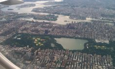 Central Park from the air!