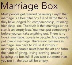 Marriage Box, Save My Marriage, Marriage Relationship, Happy Marriage, Love And Marriage, Successful Marriage, Strong Marriage, Marriage Prayer, Broken Marriage
