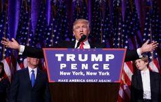 "Donald Trump ""el señor presidente"" causa conmoción política"