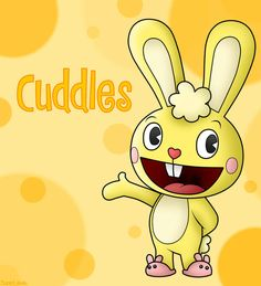 Cuddles is pretty much the main character, and he is a bunny who is very kind and cute. He seems to always run into trouble.