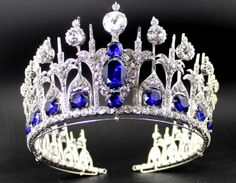 Queen Maxima's of the Netherlands Sapphire Tiara