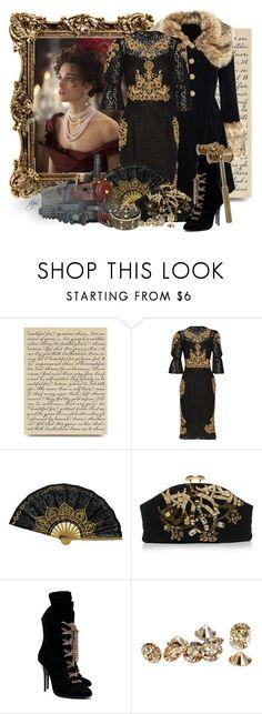 """Anna Karenina"" by dgia ❤ liked on Polyvore featuring Miss Selfridge, Dolce&Gabbana, Marni and Giuseppe Zanotti"
