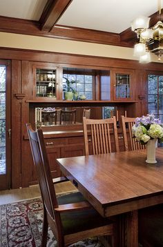 181 Best craftsman: dining room images in 2014 | Craftsman ...