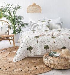 Modern Bohemian Bedroom Inspiration Design and Decor Ideas ~ Bohemian Bedrooms, Bohemian Room, Bohemian Interior, Modern Bohemian, Tropical Bedrooms, Bohemian Decor, Interior Design Living Room, Living Room Designs, Home Bedroom