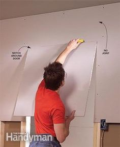 Common Drywall Installation Mistakes and How to Avoid Them - Article Basement Renovations, Home Remodeling, Basement Ideas, Hanging Drywall, Drywall Finishing, Drywall Installation, Closet Built Ins, Drywall Repair, Home Repairs