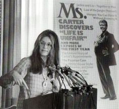 No matter how you feel about her political agenda, Gloria Steinem is an inarguable feminist icon and the entire geek girl scene would look very different Gloria Steinem, Second Wave Feminism, Intersectional Feminism, Patriarchy, Equal Rights, Geek Girls, Women In History, Social Issues