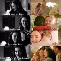 The Vampire Diaries 4x15 & 8x16: Elena, Jenna, John, Miranda, Grayson | #Gilberts