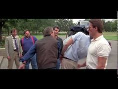 "Every punch in the face from ""Roadhouse."""