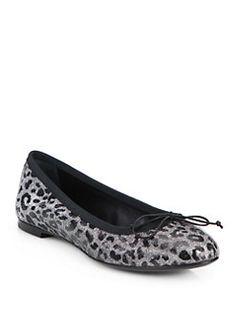 Saint Laurent - Dance Leopard-Print Ballet Flats