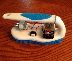 Bristle Bot the Bumper Car Brush Robot