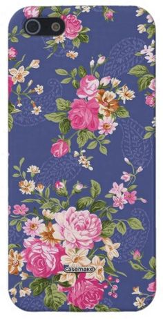 capinha estampa floral para iphone