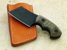 Charlie Edmondson, Elite Knives, Pocket Cleaver, Utility, Black finish