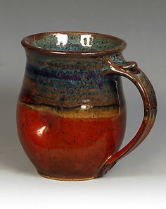 Pottery ☆ Clay ☆ Ceramics ☆ Willows Pottery I bought a mega-sized mug by this artist this weekend.