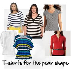 Best T-shirts for the Pear Shape