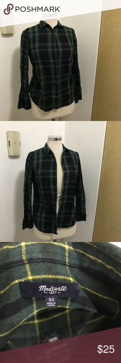 Madewell lumber shirt Great piece for fall. Great Preowned condition. Size is. Open yo sensible offers Madewell Tops Button Down Shirts