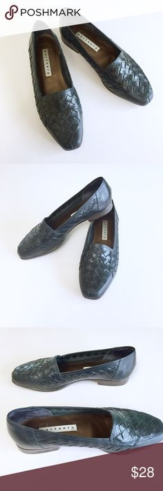 Vintage Leather Loafers Cute retro leather loafers, can be worn with cropped pants, shorts or short dresses, very versatile. These are pre owned, shoes wear on the bottoms, otherwise is great condition. Check out my closet, bundle and give me your offer! Partners Shoes Flats & Loafers