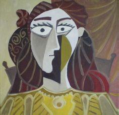 Retrato de mujer. Óleo sobre lienzo. Tamaño 30x30 cms. Año 2014