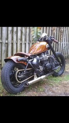 After custom bobber triumph America