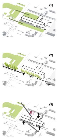 Galeria - Terceiro lugar no Concurso Archivo General de La Nación / Argentina - 12 Mais Architecture Concept Diagram, Architecture Mapping, Architecture Graphics, Concept Architecture, Architecture Drawings, Landscape Architecture, Landscape Diagram, Urban Design Diagram, Conceptual Design
