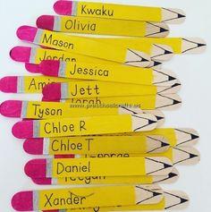 Bleistift-Eis am Stiel-stick-crafts. Popsicle Stick Crafts For Kids, Popsicle Stick Houses, Craft Stick Crafts, Fun Crafts, Diy And Crafts, Craft Ideas, Resin Crafts, Decor Crafts, Diy With Kids