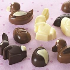Yummy! Easter chocolate moulds :)