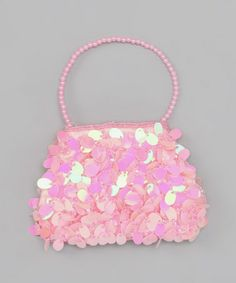 Take a look at this Bubblegum Diva Pink Fancy Paillette Purse by Bubblegum Diva on #zulily today!