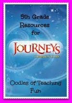 Free 5th Grade Journeys Common Core Resources....New resources are being added every day!