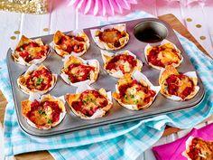 Die besten Partyrezepte für Ihre Feier.  Verwöhnen Sie Ihre Gäste mit einem Buffet aus leckeren Häppchen, Suppen und Salaten.