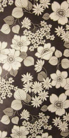 Geraldine   Flower Wallpaper   Vintage Wallpaper   Johnny-Tapete
