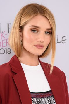 535d156f6d41a0 Rosie Huntington-Whiteley at the 2018 Elle Weekender event.