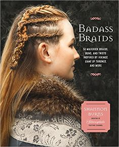 Badass Braids : 45 Maverick Braids, Buns, and Twists Inspired by Vikings, Game of Thrones, and More diy hairstyles easy Books Classic Hairstyles, Diy Hairstyles, Viking Hairstyles, Hairdos, Hairstyle Ideas, Football Hairstyles, Pretty Braided Hairstyles, Hipster Hairstyles, Twists
