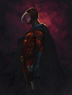 I AM THE NIGHT by zaratus.deviantart.com on @deviantART
