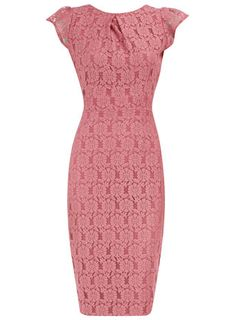 Pink lace pencil dress. This website has so many cute dresses and they're cheap!