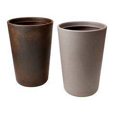 ÖSTLIG Plant pot - IKEA: 19 3/4 inches high, plastic pot for easy moving, can make drainage holes in the bottom.