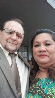 """Customer Testimonial: """" Thank you for helping my wife and I share our dreams she got her on aug.17th 2015 we married aug.30th 2015 from the time I first called you at rapid visa to the day she received her green card was only 5 months.God Bless you. """" Roger and Yvonne Minatra Philippines / USA"""